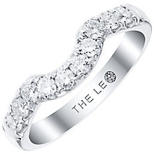 Leo Diamond Platinum 0.50ct Diamond Shaped Band - Product number 6902987