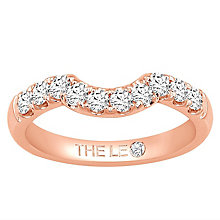 Leo Diamond 18ct Rose Gold 0.50ct Diamond Shaped Band - Product number 6903126