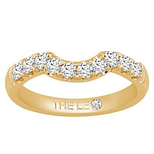 Leo Diamond 18ct Yellow Gold 0.50ct Diamond Shaped Band - Product number 6903460