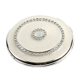 Crystal Cream Round Compact - Product number 6903843