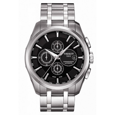 Tissot mens stainless steel bracelet watch product image