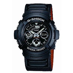 G-Shock Black Dial Combi Strap Watch