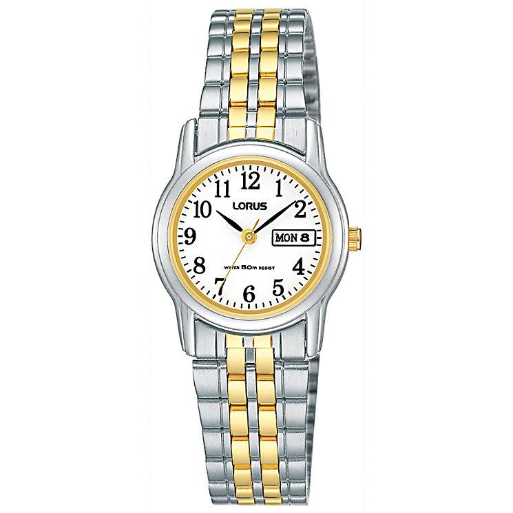Lorus Ladies' Two Colour Bracelet Watch - Product number 6905250