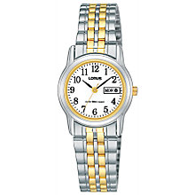 Lorus Ladies' Two Colour Bracelet Watch - Product number 6905250