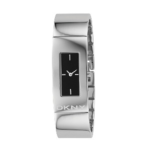 DKNY Stainless Steel Semi Bangle Watch
