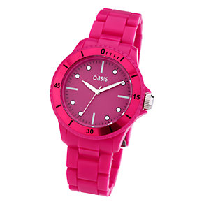 Oasis Ladies' Pink Watch - Product number 6906737