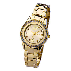 Oasis Ladies' Gold-Plated Watch - Product number 6906745