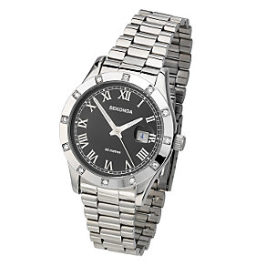 Sekonda Men's Stone Set Bezel Watch - Product number 6907474