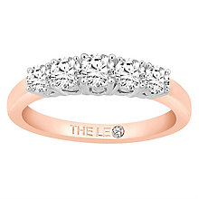 Leo Diamond 18ct Rose Gold 5 Stone 0.75ct II1 Eternity Ring - Product number 6908314