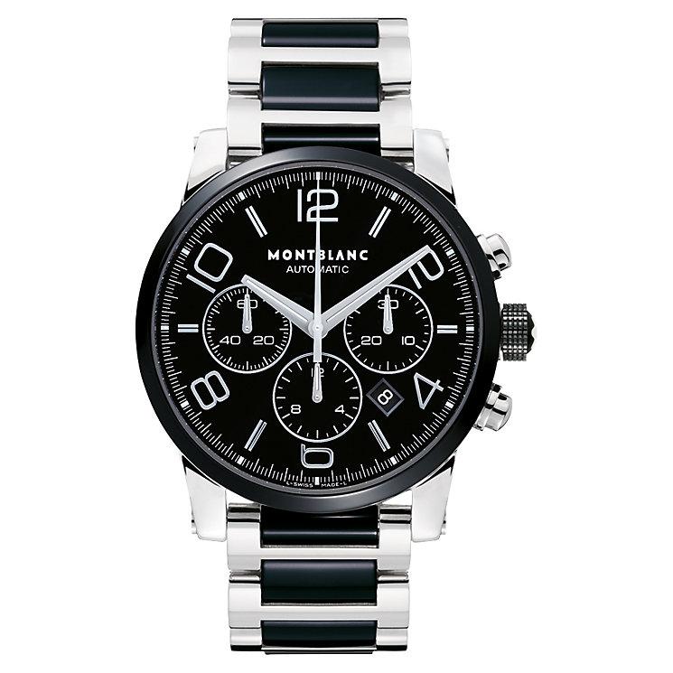 Montblanc Timewalker men's steel & ceramic bracelet watch - Product number 6912788