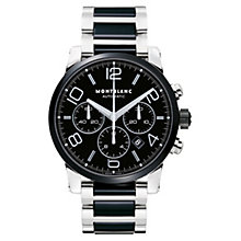 Montblanc Timewalker men's steel & ceramic bracelet watch - Product number 6912788