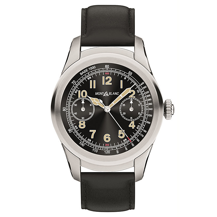 MontBlanc Summit Men's Stainless Steel Smart Watch - Product number 6916066