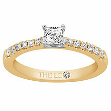 Leo Diamond 18ct Yellow Gold 0.50ct II1 Diamond Ring - Product number 6916090