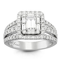 Neil Lane Platinum 1.74ct Diamond Halo Ring - Product number 6934226