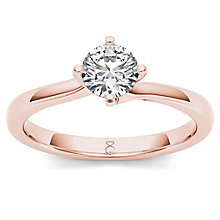The Diamond Story 18ct Rose Gold 0.50ct Diamond Ring - Product number 6936938