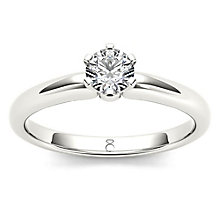 The Diamond Story Platinum 0.33ct Diamond Ring - Product number 6937594