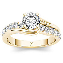 The Diamond Story 18ct Rose Gold 1ct Diamond Ring - Product number 6938639