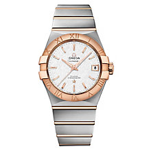 Omega Constellation Men's Two Colour Bracelet Watch - Product number 6939716