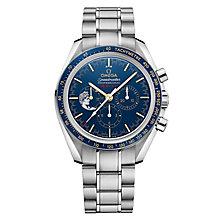 Omega Speedmaster Professional Men's Steel Blue Watch - Product number 6940072