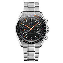 Omega Speedmaster Men's Steel Black Chronograph Watch - Product number 6940161
