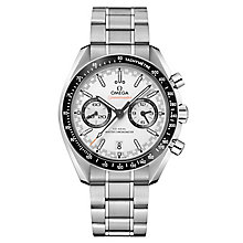 Omega Speedmaster Men's Steel White Chronograph Watch - Product number 6940188