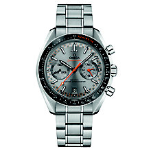 Omega Speedmaster Men's Steel Grey Chronograph Watch - Product number 6940196