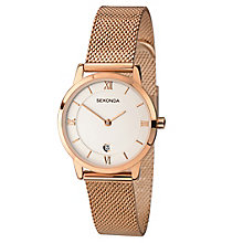 Sekonda Ladies' Rose Gold Stainless Steel Bracelet Watch - Product number 6944604