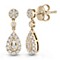 Neil Lane Designs 14ct Yellow Gold 0.45ct Diamond Earrings - Product number 6945341