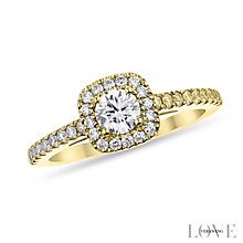 Vera Wang 18ct Yellow gold diamond ring - Product number 6946224