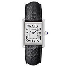 Cartier Tank Solo Ladies' Stainless Steel Strap Watch - Product number 6947816