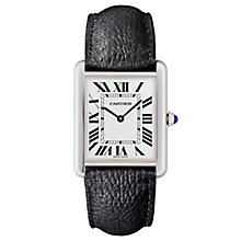 Cartier Tank Solo Men's Stainless Steel Strap Watch - Product number 6947824