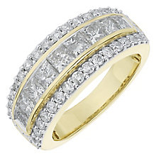 18ct Yellow Gold 2ct Diamond Wedding Band - Product number 6948456