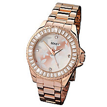 Seksy Ladies' Rose Gold Bracelet Watch RRP £89.99 - Product number 6954340