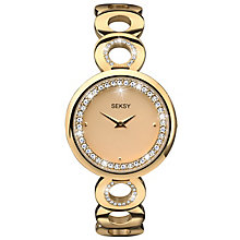 Seksy Ladies' Gold Plated Bracelet Watch RRP £99.99 - Product number 6954359
