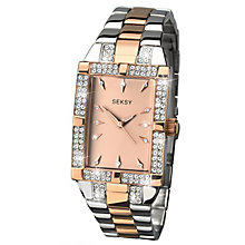 Seksy Ladies' Two Tone Bracelet Watch - Product number 6954383