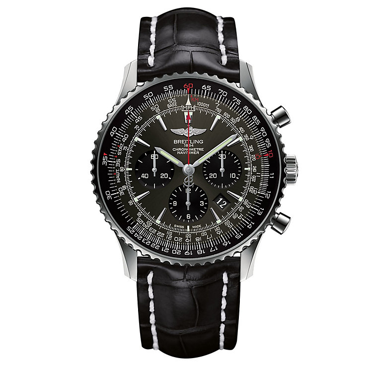 Breitling Navitimer 01 46MM Men's Stainless Steel Watch - Product number 6955096