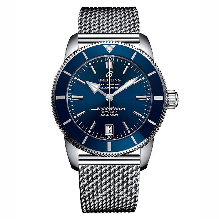 Breitling Superocean II 42 Men's Stainless Steel Blue Watch