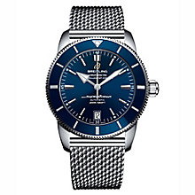 Breitling Superocean II 42 Men's Stainless Steel Blue Watch - Product number 6955150
