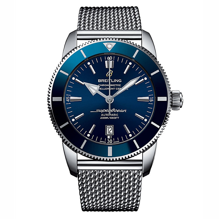 Breitling Superocean Heritage 46 Men's Stainless Steel Watch - Product number 6955207