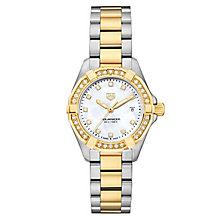 TAG Heuer Aquaracer Ladies' 2 Colour Bracelet Watch - Product number 6956289
