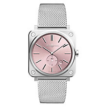 Bell & Ross Nov Ladies' Stainless Steel Pink Bracelet Watch - Product number 6957080