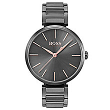 Hugo Boss Allusion Ladies' Ion Plated Bracelet Watch - Product number 6957331