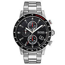 Hugo Boss Rafael Men's Stainless Steel Chronograph Watch - Product number 6957374