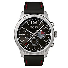 Hugo Boss Professional Men's Steel Black Chronograph Watch - Product number 6957390