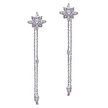 Carat Camelia Silver Drop Earrings - Product number 6957579