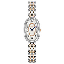 Longines Symphonette Ladies' 2 Colour Oval Bracelet Watch - Product number 6959105