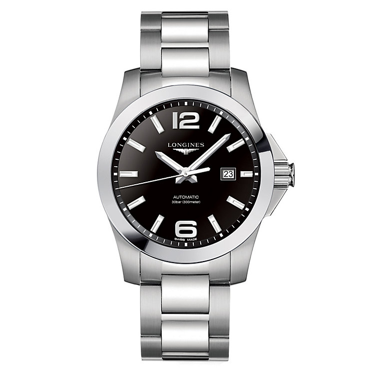 Longines Conquest 43mm Automatic Men's Stainless Steel Watch - Product number 6959350