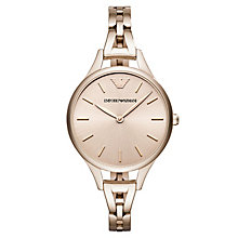 Emporio Armani Aurora Ladies' Rose Gold Tone Bracelet Watch - Product number 6988245