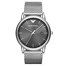 Emporio Armani Luigi Men's Stainless Steel Bracelet Watch - Product number 6988296