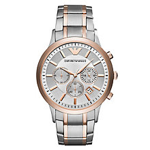Emporio Armani Renato Men's 2 Colour Bracelet Watch - Product number 6988350